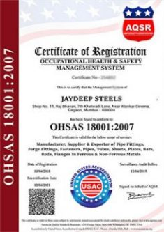 ohsas-18001-2007-certificate