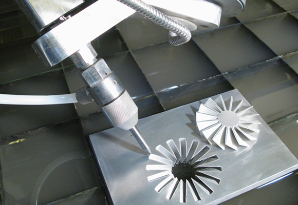 5-Axis Abrasive Waterjet Cutting